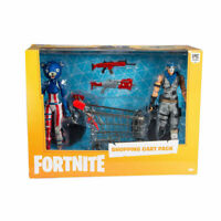 Fortnite Shopping Cart Pack Warpaint & Fireworks Team Leader Figure McFarlane