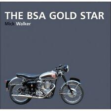 The BSA Gold Star  Mick Walker Motorcycle paper book