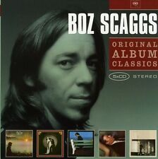 Original Album Classics - 5 DISC SET - Boz Scaggs (2010, CD NUOVO)