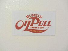 RUMELY OIL PULL LOGO Fridge/tool box magnet