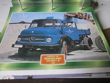Super Trucks Mehrzweck LKWs Deutschland Mercedes LK/LAK911 B 1968