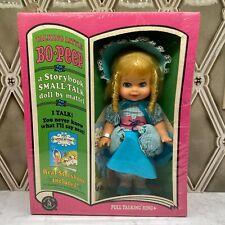 Vintage Doll Mattel A Storybook Small Talk Doll Little Bo-Peep Talking Doll 1968