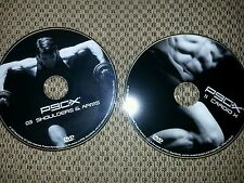 2 - P90X DVDs #3 Shoulders and Arms AND #11 Cardio X FREE SHIPPING!!!