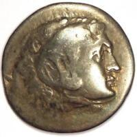Alexander the Great III AR Tetradrachm Coin Perga 336-323 BC - Fine Condition