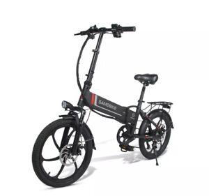 """Samebike intelligente 20"""" Bici Elettrica Modello 20LVXD30. Colore Bianco o Nero"""