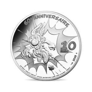 10 euro France 2019 argent BE - 60ème anniversaire Astérix