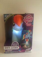 My Little Pony Soft Lite - Rainbow Dash - Soft Light Up Toy and Nightlight Nib