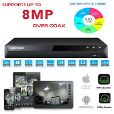 8MP  5MP TVI, 16CH 5-1 CCTV DVR, 4CH Audio, Support AHD/TVI/CVI/CVBS/IP
