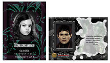 Twilight ~ Nat cards ~ Ltd Edition 27th Set ~ Breaking Dawn Pt 2 ~ Closer Contd