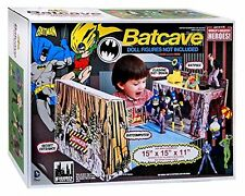Batman Batcave Retro Playset New Sealed