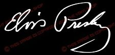 Elvis Presley Signature Vinyl Decal Sticker Autograph King Of Rock & Roll