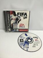 FIFA: Road to World Cup 98 (Sony PS1 Playstation 1)  Complete CIB VG Cond Tested