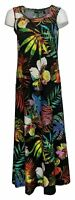 Attitudes by Renee Petite Dress PS Floral Printed Maxi Black A375422