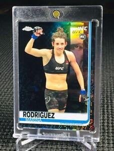 "2019 Topps Chrome UFC ~ MARINA RODRIGUEZ (#04/10) ""BLACK""! REFRACTOR RC CARD!📈"