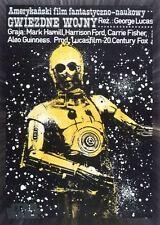 Star Wars 40th Anniversary Base Card #137 Polish Star Wars Poster