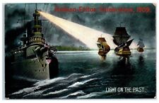 1909 Hudson-Fulton Celebration Battleship Postcard