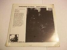 Deep Purple – Prisoners of Rock (1970) rare live double LP Not Tmoq SEALED