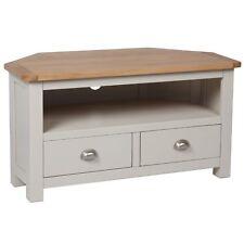 Sussex Oak Corner TV Unit / Media Unit / Solid Hardwood / Living Room / New