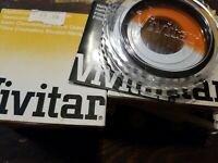 Vivitar 58mm HC/O Halfchrome Orange Filter Case/Box New Old Stock F/Camera Lens