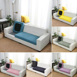1 2 3 4 Seater Sofa Seat Cushion Cover Elastic Stretch Slipcover Couch Slipcover