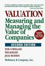 Valuation: Measuring and Managing the Value of Companies, 2nd Edition-ExLibrary