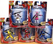 Power Rangers 2017 Ninja Steel FULL SET White Pink Yellow Red Blue ACTION FIGURE