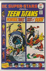 DC Super-Stars #1 DC Comics 1976 Teen Titans
