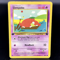 Slowpoke 1st Edition - Team Rocket 67/82 - WoTC Common Pokemon Card