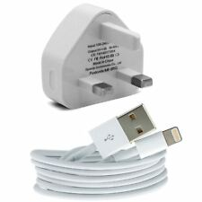 100% Genuine CE Charger Plug & USB Sync Cable for Apple iPhone 5 iPhone 6