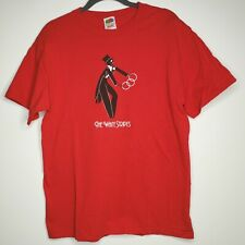 The White Stripes T-Shirt Men's Size Medium Skeleton Magician Jack White