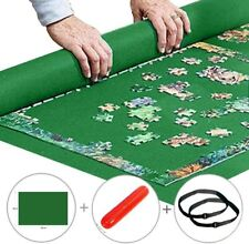 Yobooom Roll up Jigsaw Puzzle, Pad Puzzle Storage Felt Mat -1000 piece puzzles