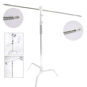 Studio Boom Arm 1.2m Metal Heavy Duty C-Stand Light Extension Photo Photography