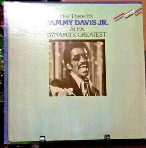 SAMMY DAVIS JR. Hey There! It's Sammy Davis Jr. At His Dynamite Greatest