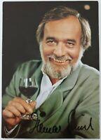 Elmar Gunsch signiert +2013 Original Karte Unterschrift Autogramm Signatur # RAR