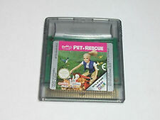 Nintendo GBC-barbie pet Rescue