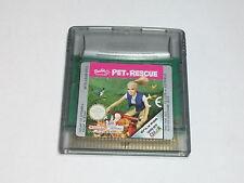 Nintendo GBC-barbie pet Rescue