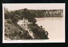 Australia MT GAMBIER Blue Lake Pump Station c1920/30s? RP PPC Rose Stereograph