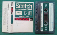 MC Musicassetta SCOTCH C-90 Dynarange vintage compact cassette audiotape USATA