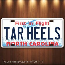 2017 NCAA Champion North Carolina Tar Heels Aluminum License Plate Tag New