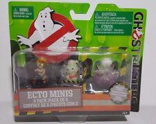 Ghostbusters Ecto Minis 3 Pack - Jillian Holtzmann, Rowan in Trap, Gertrude