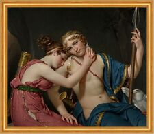 Farewell of Telemachus and Eucharis Jacques-Louis David Mythologie B A2 02355