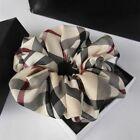 Hair Bands Striped Plaid Tie Head Rope Classic Grid Fabric Headwear Accessories