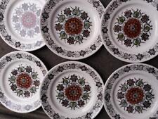 BROADHURST CHINA - ROMANY - DESIGNER KATHIE WINKLE - 6 SIDE PLATES