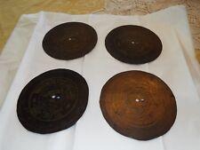 Antique Symphonion Music Box Discs, Lot of 4