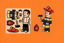 15 Make Your Own Fireman Stickers - Party Favors - Rewards