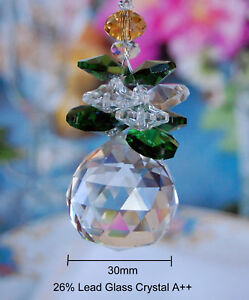 Special Edition- Green Angel Crystal Ceiling Fan Pull