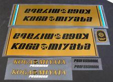 Koga-Miyata bicycle restoration decal set of 5