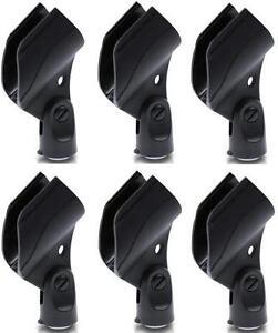 6 x D905 Mikrofon-Klemme-Klammer für Sender-Wireless-Mikrofone Mikrofon-Halter