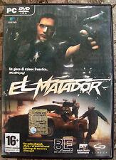 2006 GIOCO D'AZIONE PER PC - DVD ROM 'EL MATADOR. ORIGINALE WINDOWS XP