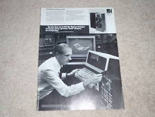 KEF C40 Speaker Ad, 1987, Article, 1 page, Nice Ad!